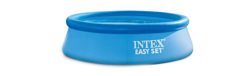 Petite Piscine autoportée Intex Easy Set 2,44 x 0,76 m de Intex comparaison des meilleurs prix pour sa commande