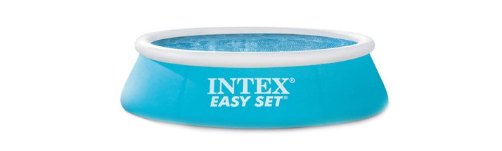 Petite piscine Intex gonflable Easy Set 1,83 x 0,51 m 28101NP