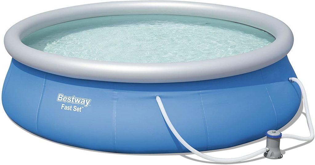 Bassin autostable Bestway 396 x 84 cm avec filtration cartouche